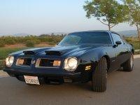 Pontiac Firebird, 2 поколение [рестайлинг], Formula купе 2-дв., 1974–1976