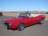 Pontiac Firebird, 1967, 1 поколение, Кабриолет