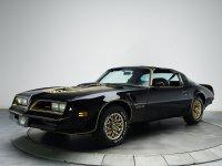 Pontiac Firebird, 2 поколение [3-й рестайлинг], Trans am black special edition t-roof тарга 2-дв., 1977–1978