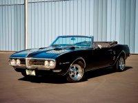 Pontiac Firebird, 1968, 1 поколение [рестайлинг], Кабриолет