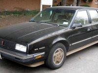 Pontiac 6000, 1 поколение [2-й рестайлинг], Седан, 1987–1988