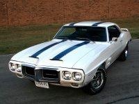 Pontiac Firebird, 1 поколение [2-й рестайлинг], Trans am купе 2-дв., 1969