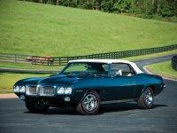 Pontiac Firebird, 1 поколение [2-й рестайлинг], Кабриолет, 1969