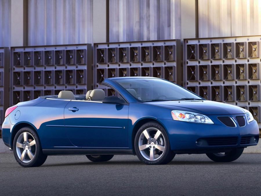 Pontiac G6 кабриолет, 2005–2014, 1 поколение - отзывы, фото и характеристики на Car.ru