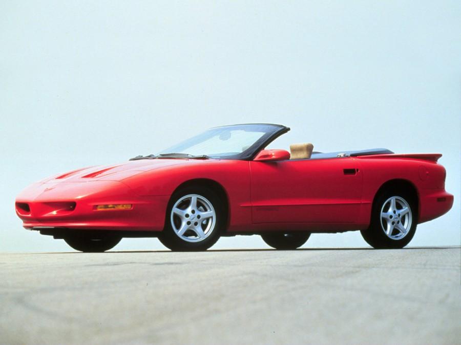 Pontiac Firebird кабриолет, 1993–1997, 4 поколение - отзывы, фото и характеристики на Car.ru