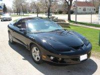 Pontiac Firebird, 4 поколение [рестайлинг], Тарга, 1998–2002