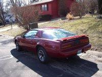 Pontiac Firebird, 3 поколение [2-й рестайлинг], Trans am t-roof тарга