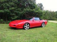 Pontiac Firebird, 3 поколение [2-й рестайлинг], Кабриолет