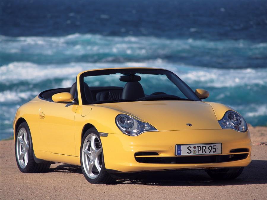 Porsche 911 кабриолет, 2000–2005, 996 [рестайлинг] - отзывы, фото и характеристики на Car.ru