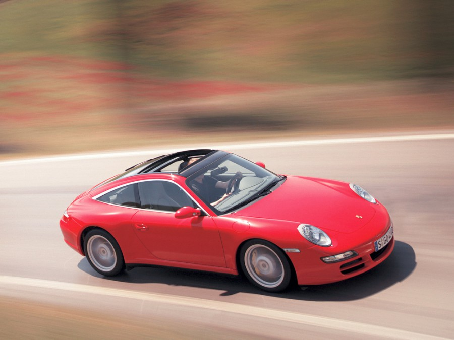 Porsche 911 Targa тарга, 2005–2010, 997 - отзывы, фото и характеристики на Car.ru