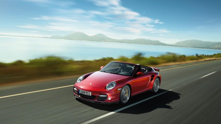 Porsche 911 Turbo кабриолет 2-дв., 2008–2013, 997 [рестайлинг] - отзывы, фото и характеристики на Car.ru