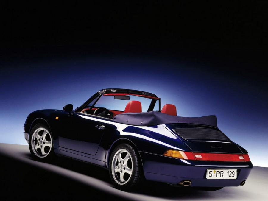 Porsche 911 Carrera кабриолет, 1993–1998, 993 - отзывы, фото и характеристики на Car.ru