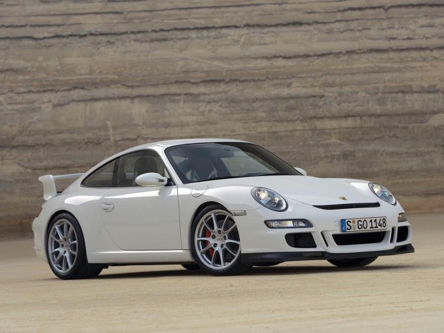 Porsche 911 GT3 купе 2-дв., 2005–2010, 997 - отзывы, фото и характеристики на Car.ru
