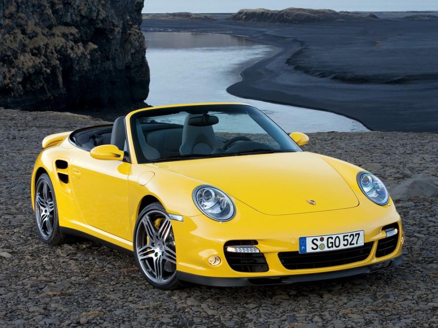 Porsche 911 Turbo кабриолет 2-дв., 2005–2010, 997 - отзывы, фото и характеристики на Car.ru