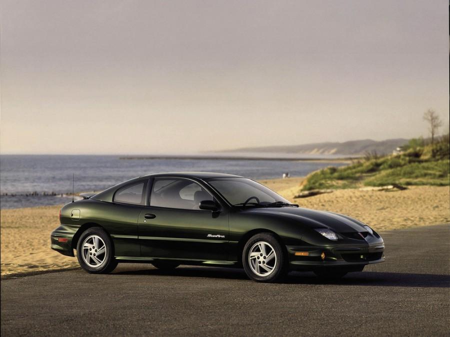 Pontiac Sunfire купе, 2000–2002, 1 поколение [рестайлинг] - отзывы, фото и характеристики на Car.ru