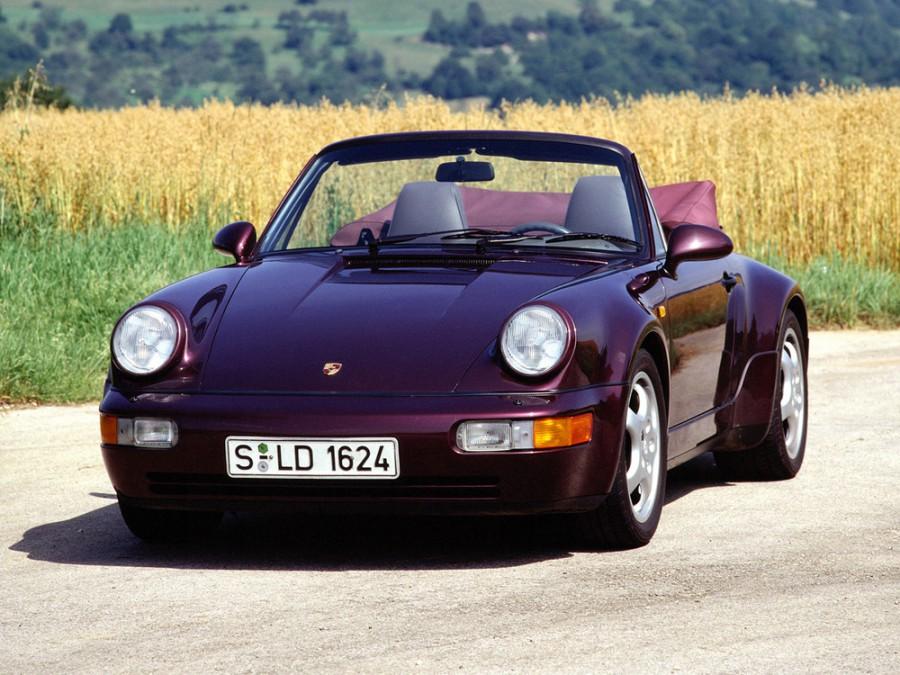 Porsche 911 Carrera кабриолет, 1989–1994, 964 - отзывы, фото и характеристики на Car.ru