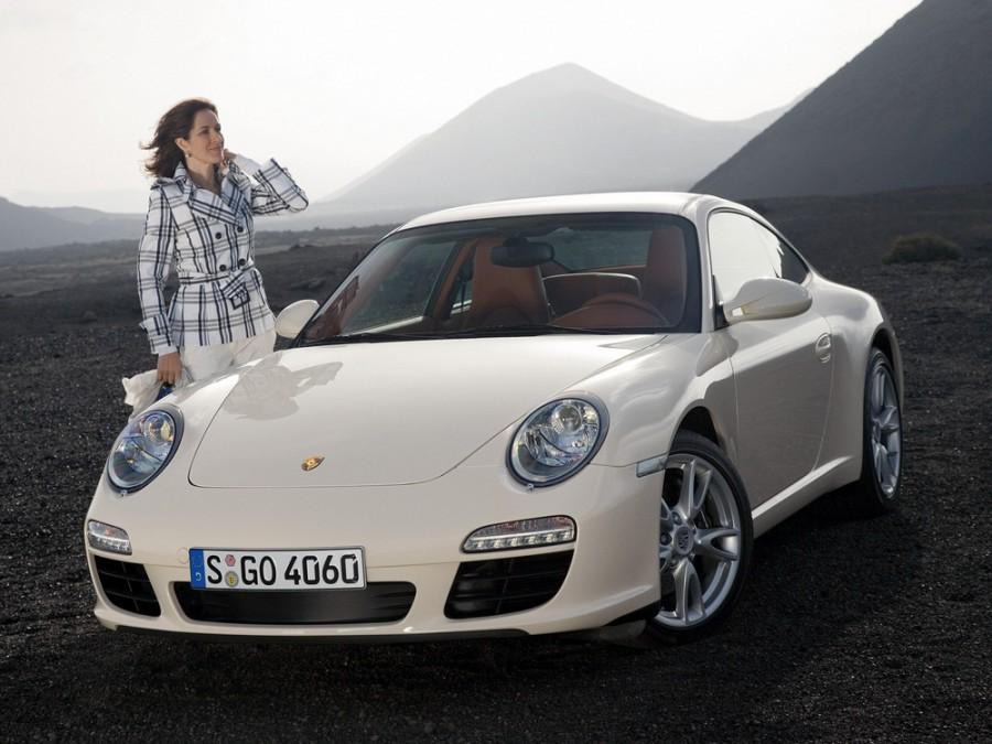 Porsche 911 Carrera купе 2-дв., 2008–2013, 997 [рестайлинг] - отзывы, фото и характеристики на Car.ru