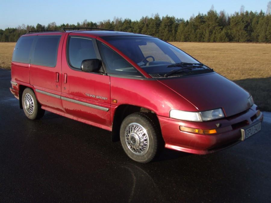 Pontiac Trans Sport EU-spec. минивэн 4-дв., 1994–1996, 1 поколение [рестайлинг] - отзывы, фото и характеристики на Car.ru