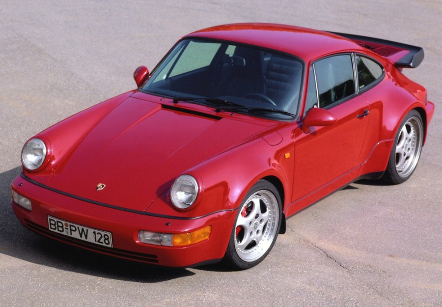 Porsche 911 Turbo купе 2-дв., 1989–1994, 964 - отзывы, фото и характеристики на Car.ru