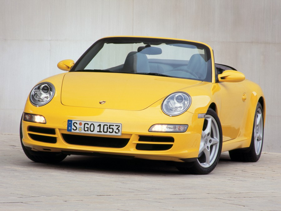 Porsche 911 Carrera кабриолет 2-дв., 2005–2010, 997 - отзывы, фото и характеристики на Car.ru
