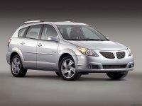 Pontiac Vibe, 1 поколение [рестайлинг], Хетчбэк, 2004–2008