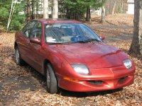 Pontiac Sunfire, 1 поколение, Se седан, 1995–2000
