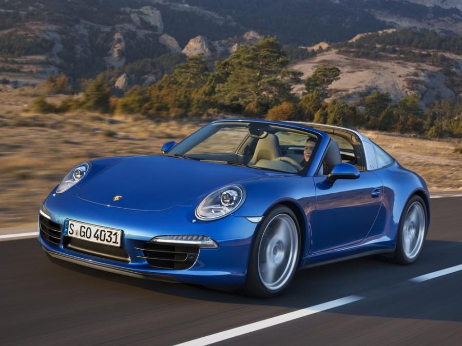 Porsche 911 тарга, 2011–2016, 991 - отзывы, фото и характеристики на Car.ru