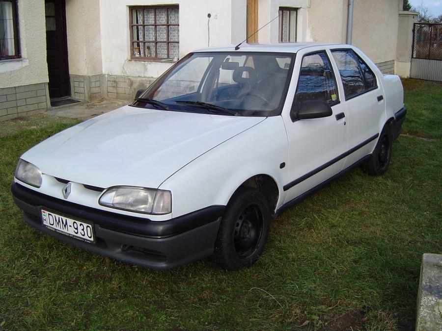 Renault 19 Chamade седан, 1992–2000, 2 поколение - отзывы, фото и характеристики на Car.ru