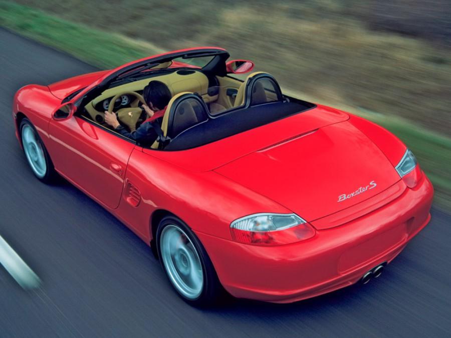 Porsche Boxster Spyder родстер 2-дв., 2002–2004, 986 [рестайлинг] - отзывы, фото и характеристики на Car.ru