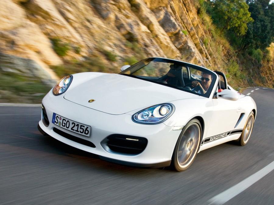 Porsche Boxster Spyder родстер 2-дв., 2008–2012, 987 [рестайлинг] - отзывы, фото и характеристики на Car.ru