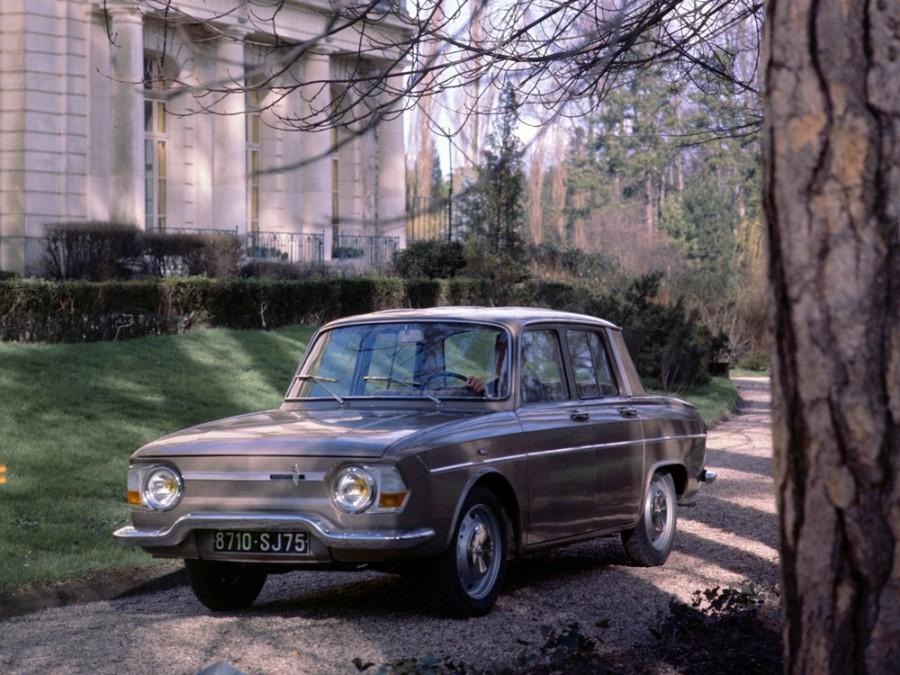Renault 10 седан, 1965–1967, 1 поколение - отзывы, фото и характеристики на Car.ru