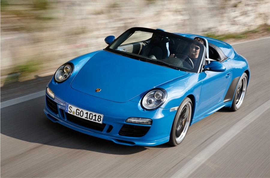 Porsche 911 Speedster кабриолет 2-дв., 2008–2013, 997 [рестайлинг] - отзывы, фото и характеристики на Car.ru