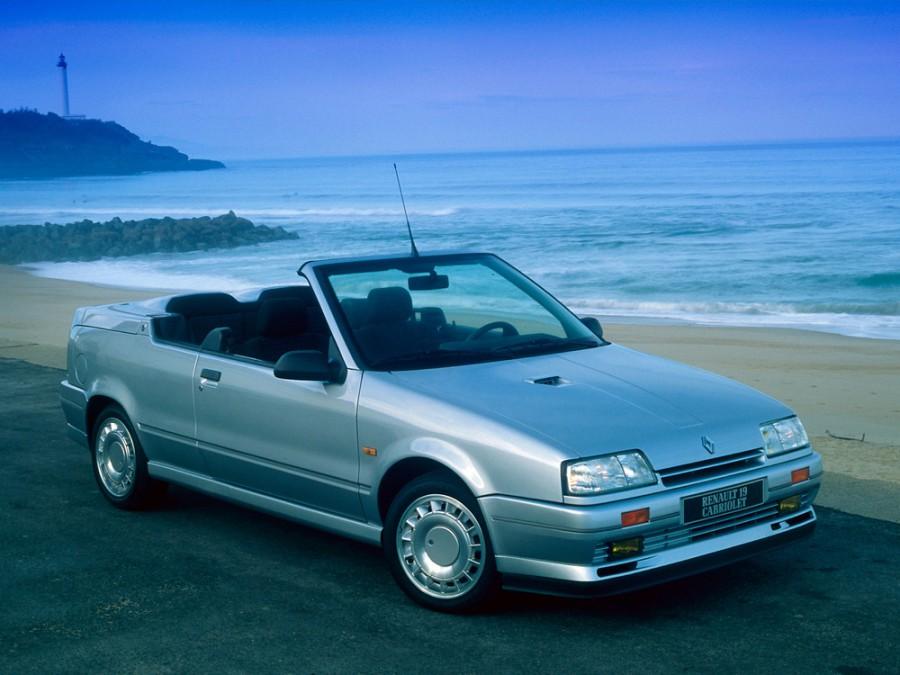 Renault 19 кабриолет, 1988–1992, 1 поколение - отзывы, фото и характеристики на Car.ru