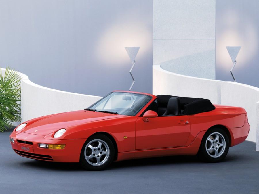 Porsche 968 кабриолет, 1992–1995, 1 поколение - отзывы, фото и характеристики на Car.ru