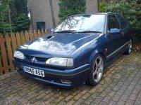 Renault 19, 2 поколение, Хетчбэк 3-дв., 1992–2000
