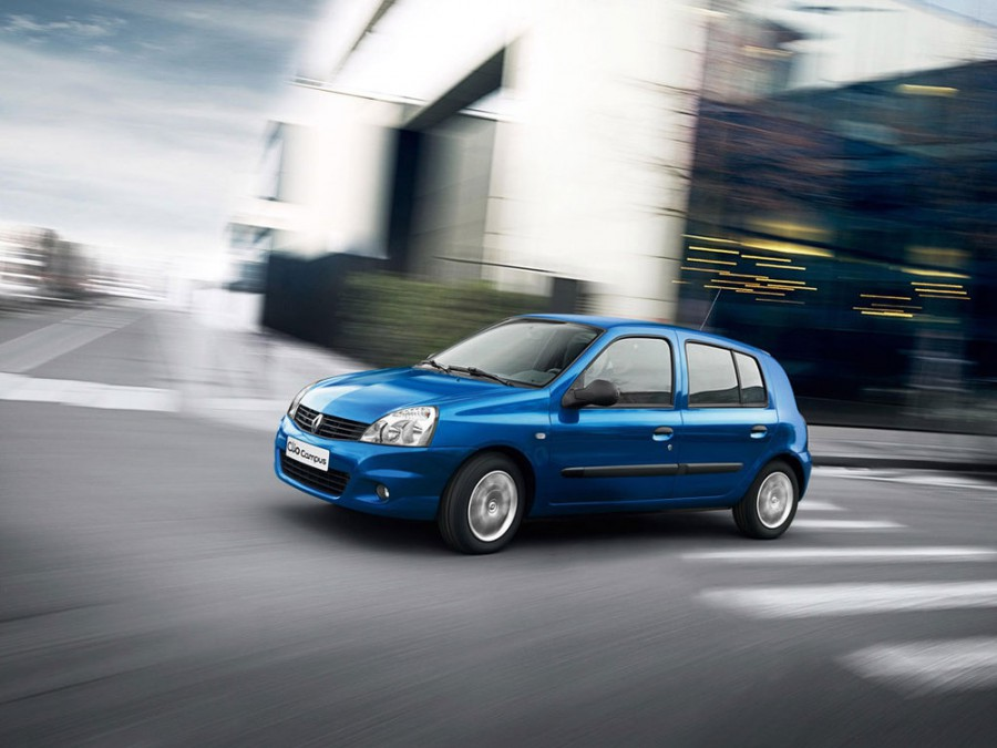 Renault Clio хетчбэк, 2009–2016, Campus [3-й рестайлинг] - отзывы, фото и характеристики на Car.ru