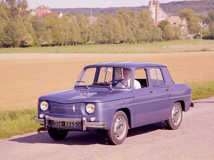 Renault 8 седан, 1962–1973, 1 поколение - отзывы, фото и характеристики на Car.ru