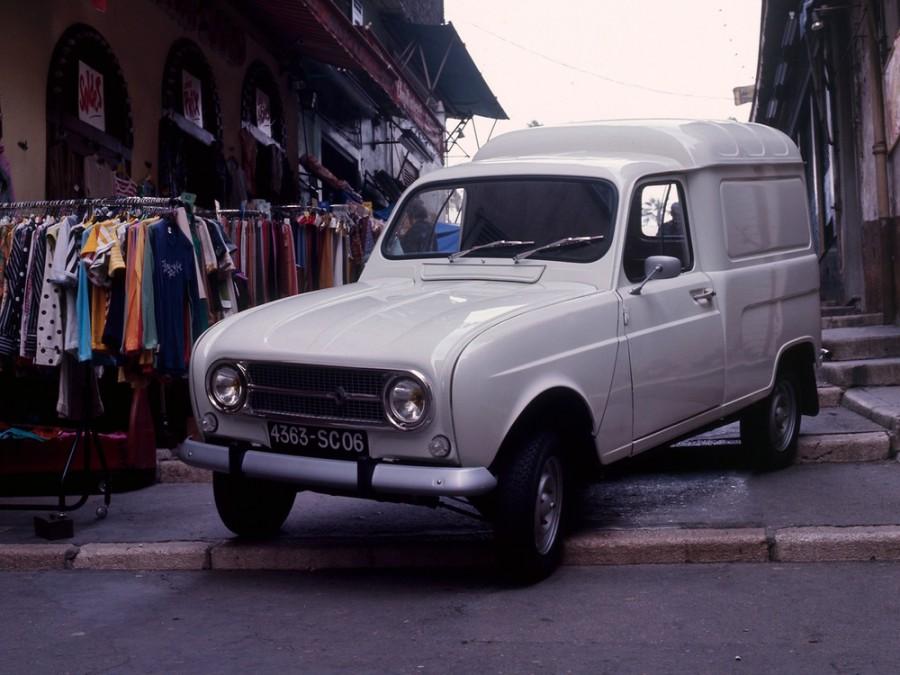 Renault 4 фургон, 1 поколение [рестайлинг] - отзывы, фото и характеристики на Car.ru