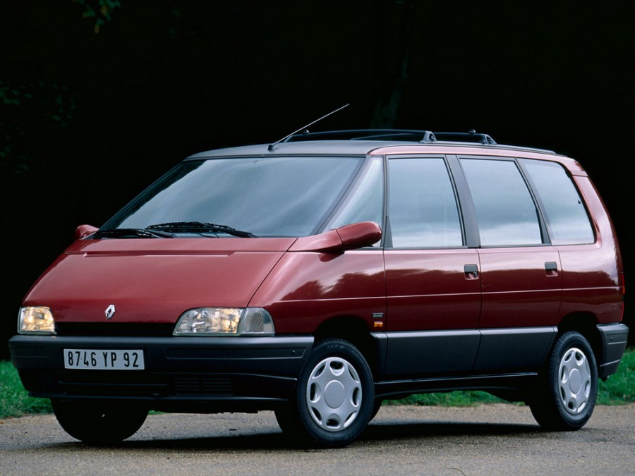 Renault Espace минивэн, 1991–1996, 2 поколение - отзывы, фото и характеристики на Car.ru