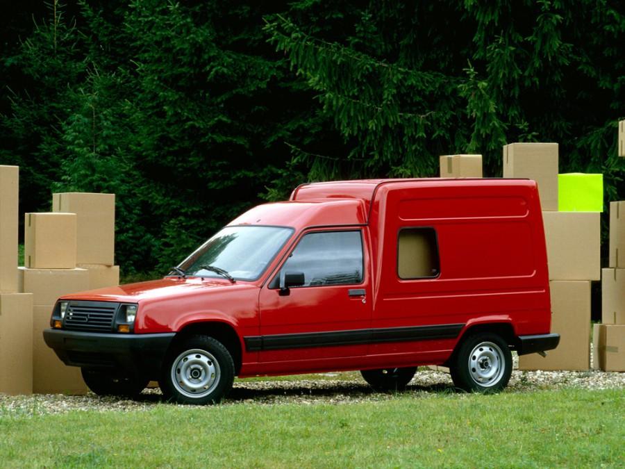 Renault Express фургон, 1985–1991, 1 поколение - отзывы, фото и характеристики на Car.ru