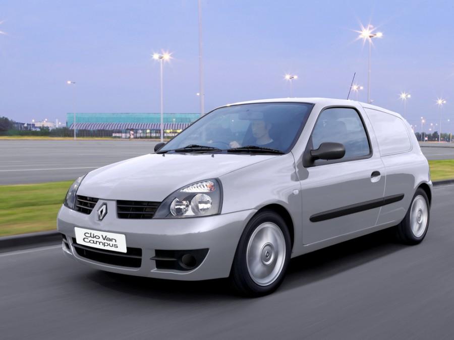 Renault Clio фургон, 2006–2009, Campus [2-й рестайлинг] - отзывы, фото и характеристики на Car.ru