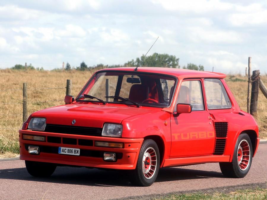 Renault 5 Turbo хетчбэк 3-дв., 1972–1985, 1 поколение - отзывы, фото и характеристики на Car.ru