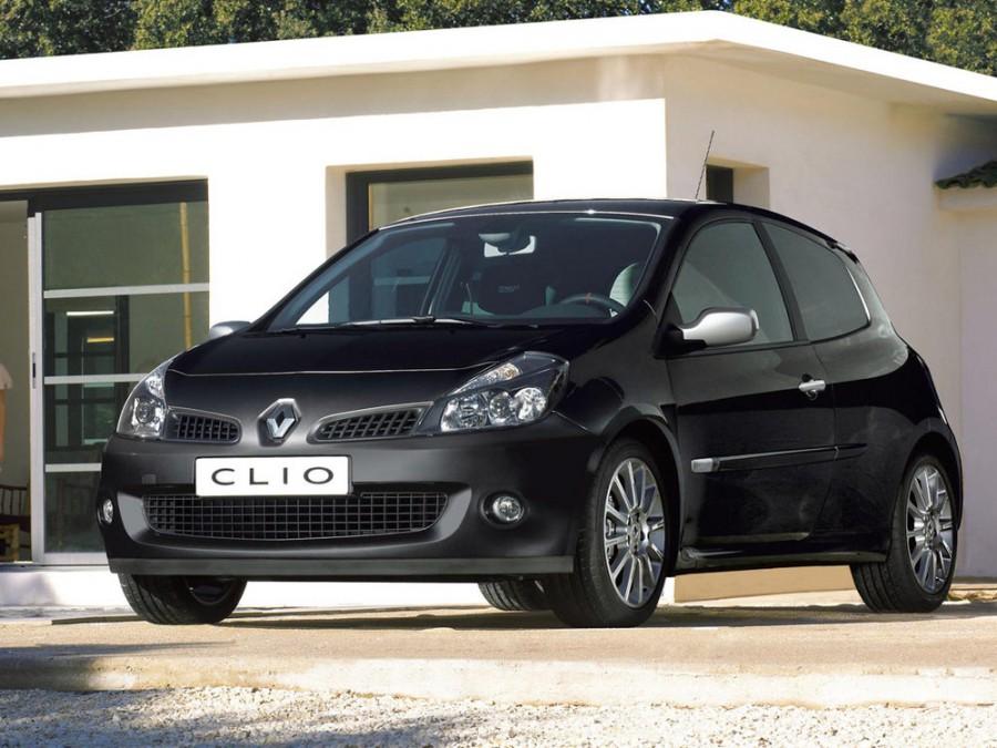 Renault Clio RS хетчбэк 3-дв., 2005–2009, 3 поколение - отзывы, фото и характеристики на Car.ru