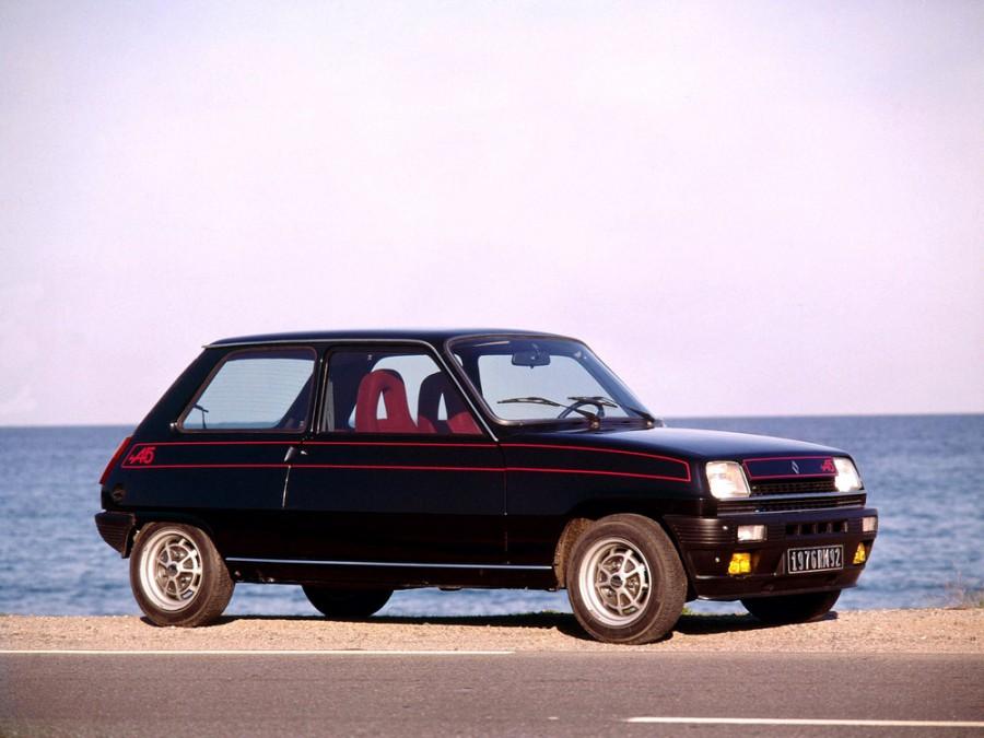 Renault 5 Alpine хетчбэк 3-дв., 1972–1985, 1 поколение - отзывы, фото и характеристики на Car.ru