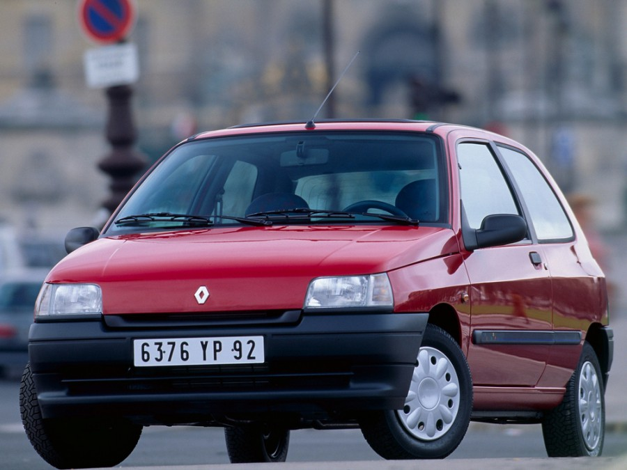Renault Clio хетчбэк 3-дв., 1990–1997, 1 поколение - отзывы, фото и характеристики на Car.ru