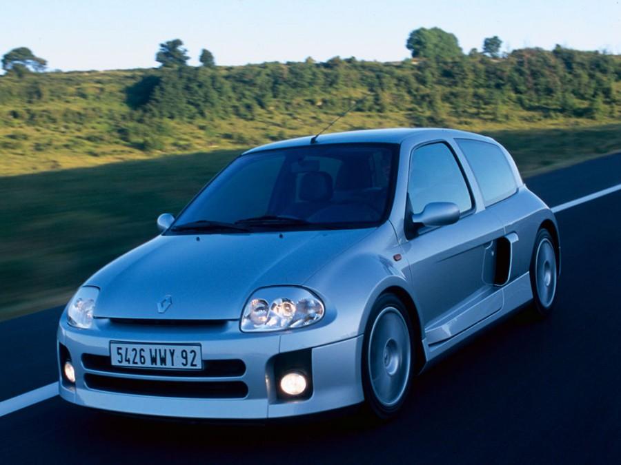 Renault Clio V6 Sport хетчбэк 2-дв., 1998–2005, 2 поколение - отзывы, фото и характеристики на Car.ru