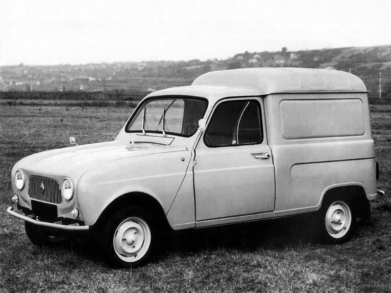 Renault 4 фургон, 1 поколение - отзывы, фото и характеристики на Car.ru