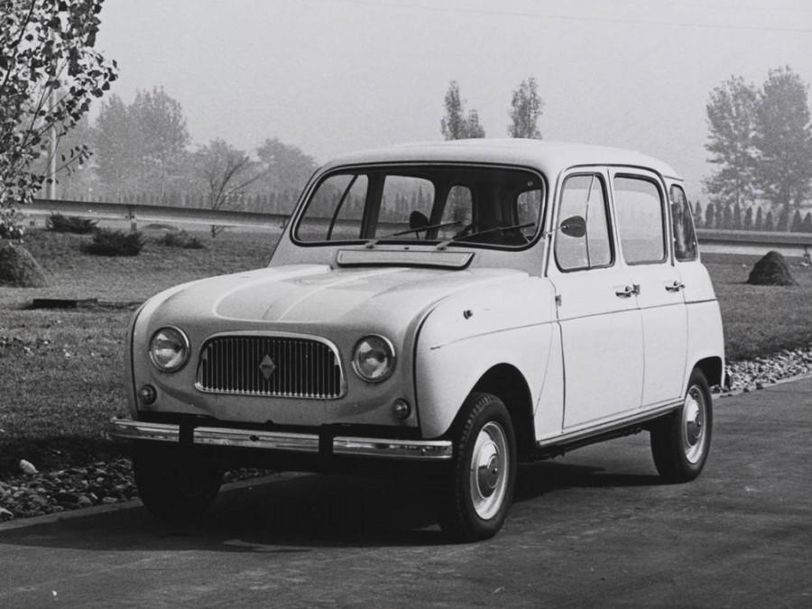 Renault 4 хетчбэк, 1 поколение - отзывы, фото и характеристики на Car.ru