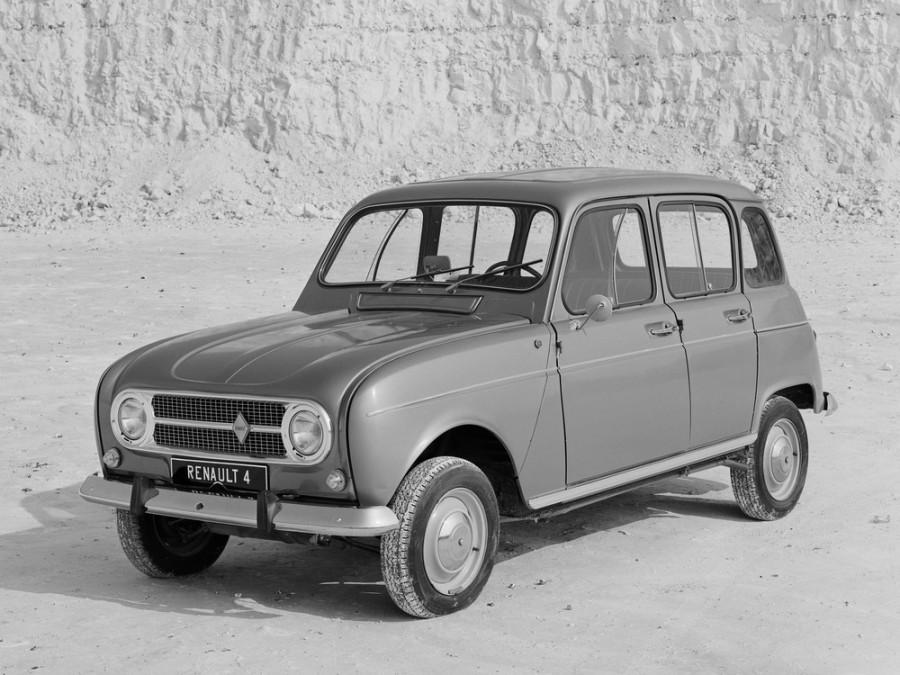 Renault 4 хетчбэк, 1 поколение [рестайлинг] - отзывы, фото и характеристики на Car.ru