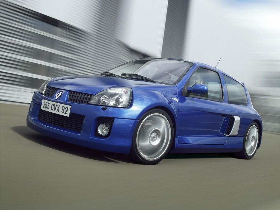 Renault Clio V6 Sport хетчбэк 2-дв., 2001–2005, 2 поколение [рестайлинг] - отзывы, фото и характеристики на Car.ru